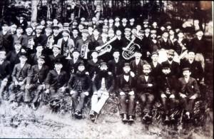 Arbetare i Granhäcksskogen