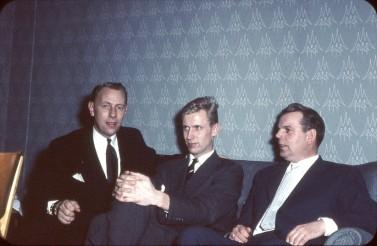 Ivar Linder, Jan Bäfving och Fredrik Olsson